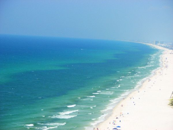 Panama City Beach Florida Taken From The 22nd Floor Panama City Panama Beach Images Dream Vacations