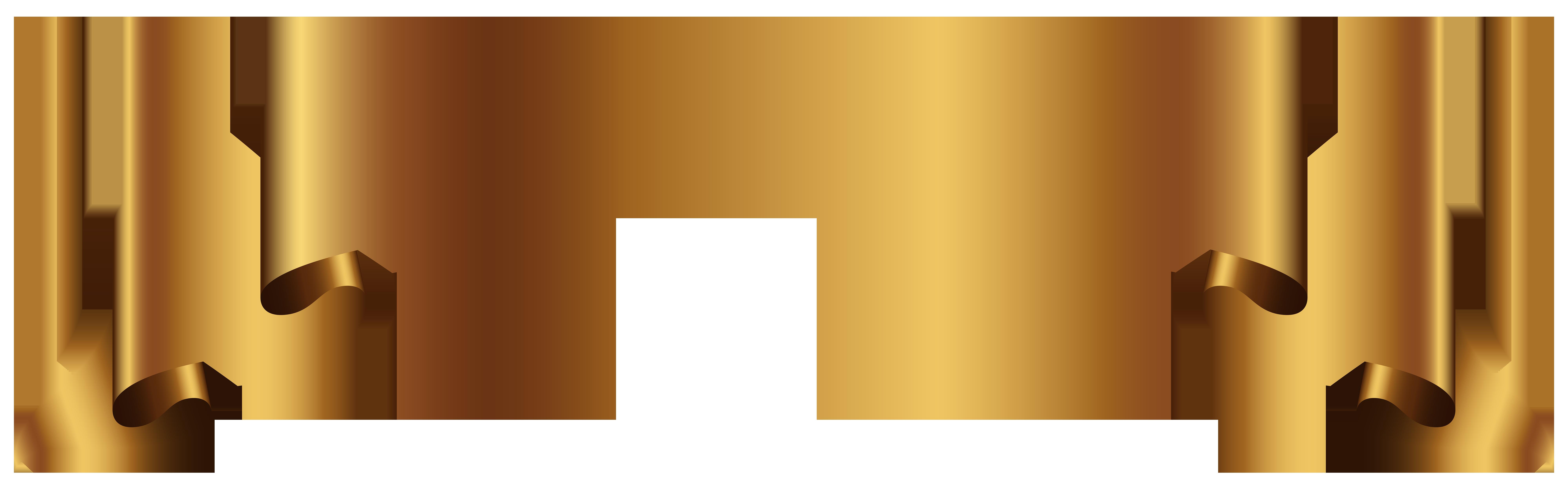Gold Banner Transparent Png Clip Art Image Canecas Toppers De Bolo Planos De Fundo