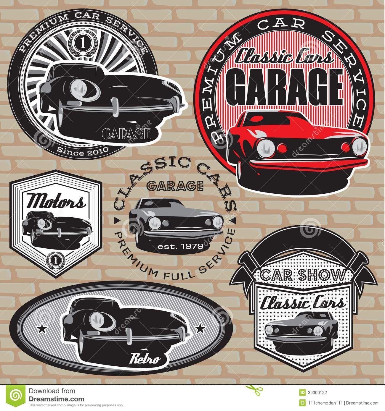vintage retro car logo - Google Search | putfoot | Pinterest | Car ...