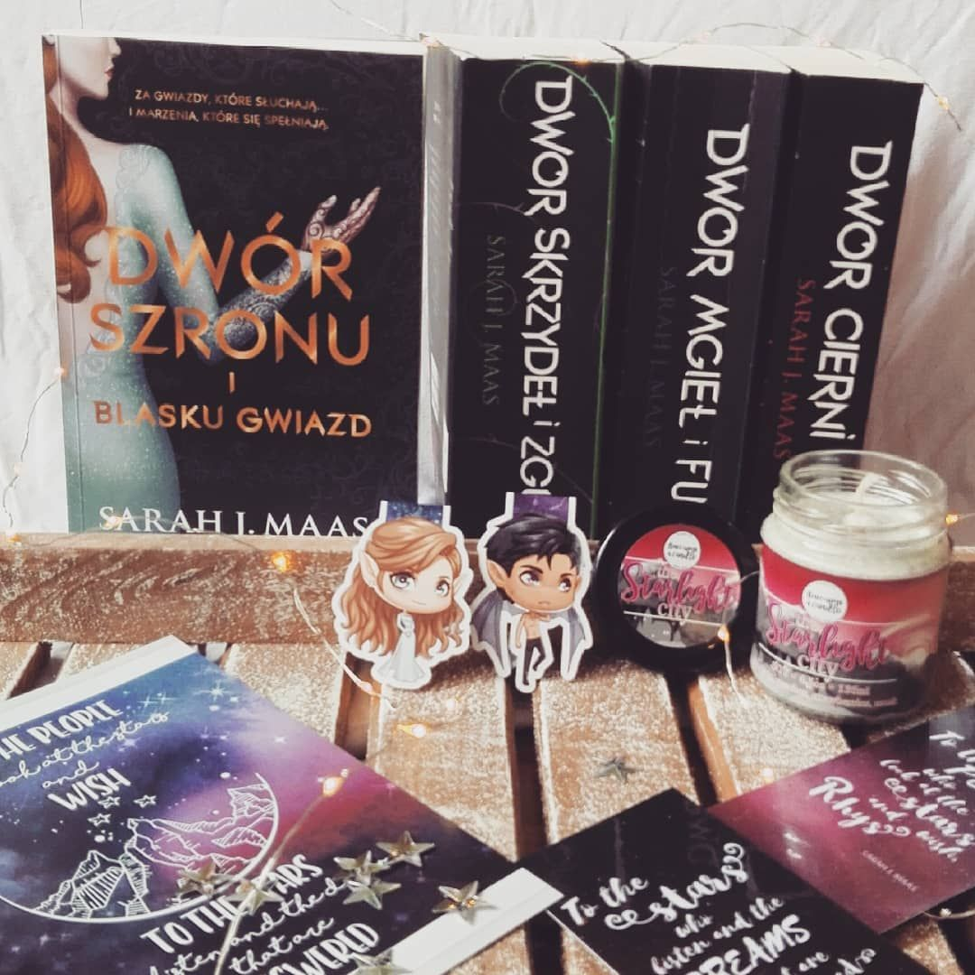 A Court Of Frost And Starlight Acotar Series By Sarah J Maas