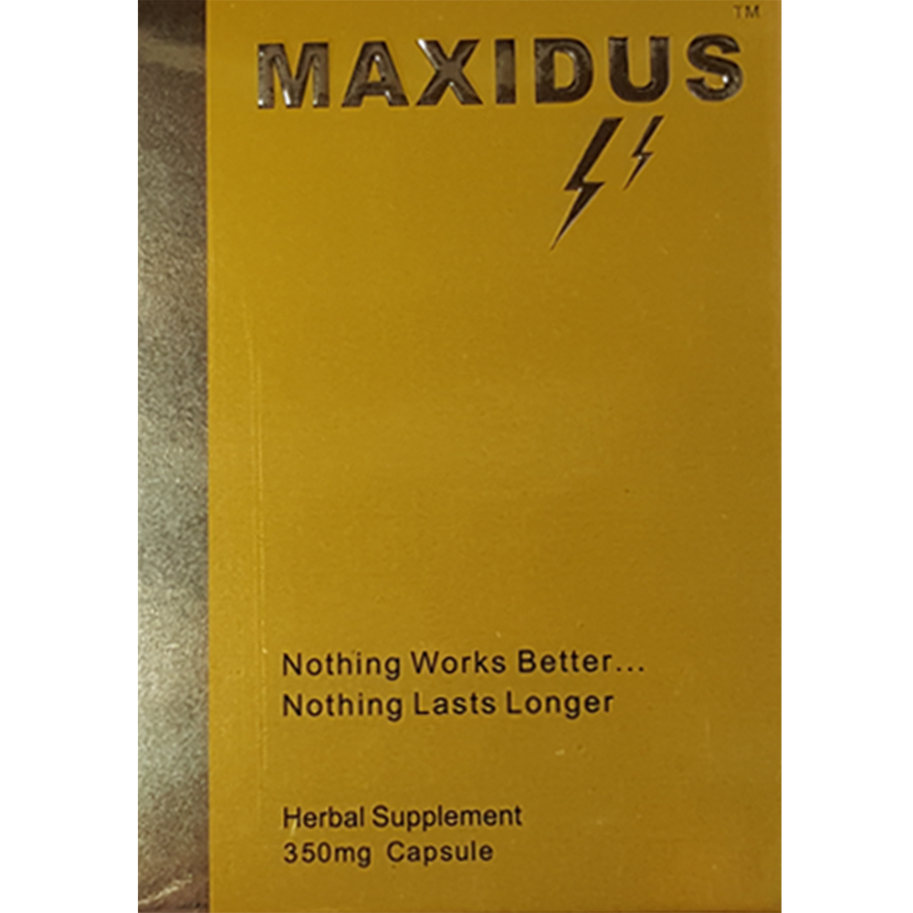 Maxidus helps with lasting longer in bed and gives you harder erections. Maxidus are male enhancement pills that helps with sexual dysfunction and erections