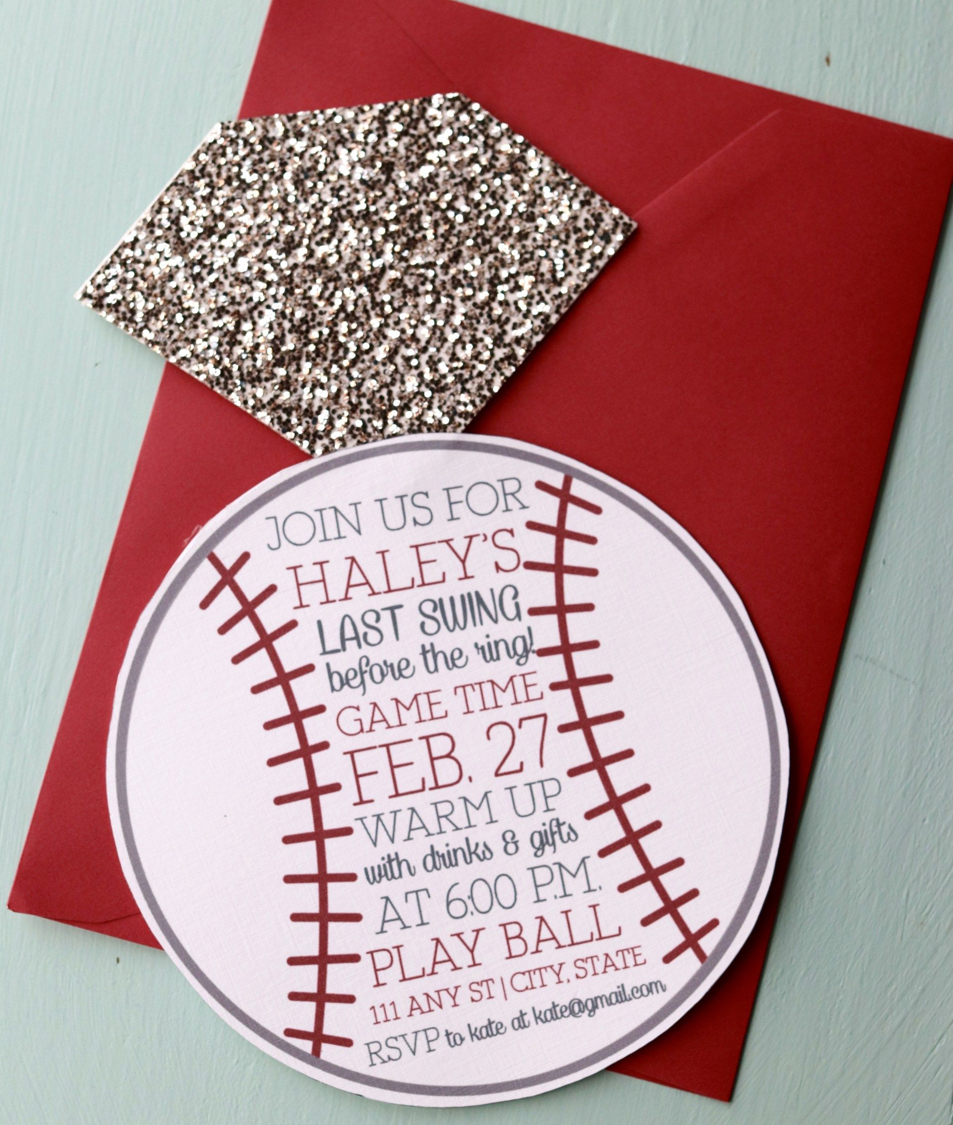 NonTraditional Bridal Showers 6 New Invitation Ideas