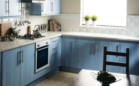 blue kitchen design - Blue Kitchen Designs