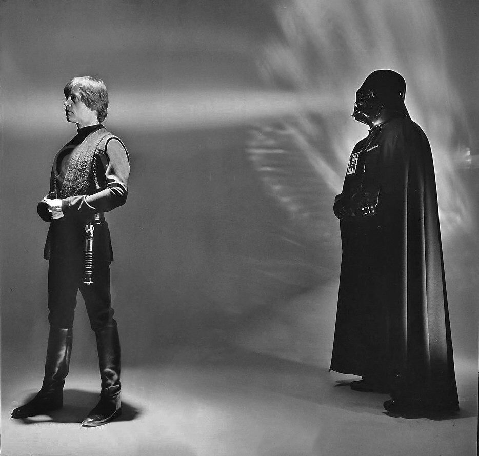 Luke and his father...