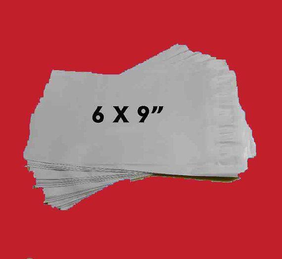 Yens® 400 #M2 WHITE POLY MAILERS ENVELOPES Self Sealing BAGS 7.5 x 10.5  400M2