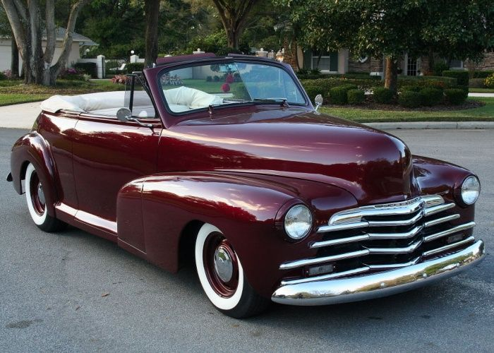 1947 Chevy Fleetmaster Convertible Chevrolet Chevy Antique Cars