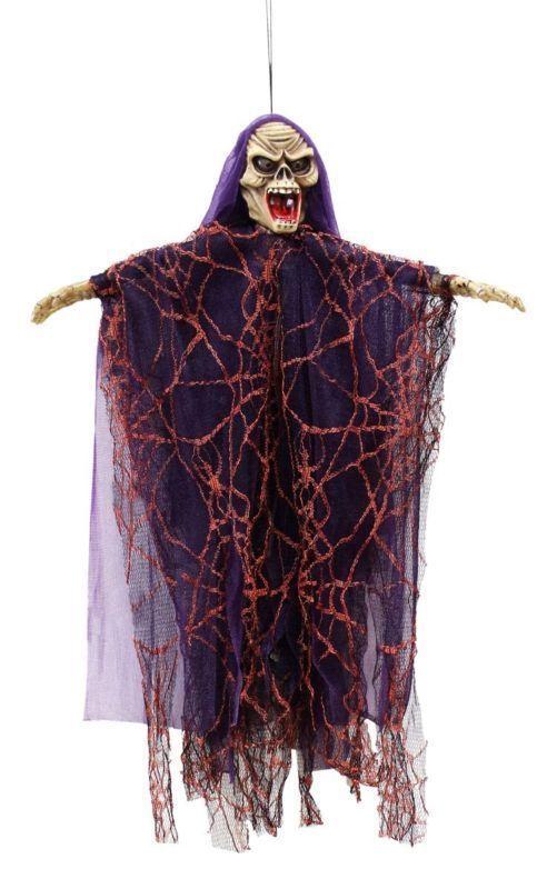 Hanging Skeleton Ghost Halloween Decoration Outdoor Scary Home Decor - outdoor ghosts halloween decorations