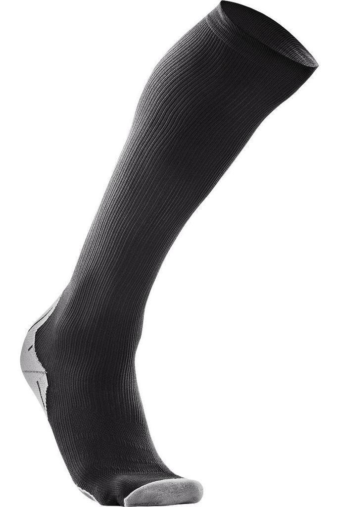 2XU Men/'s MA2440e Compression Socks For Recovery  Black// Black