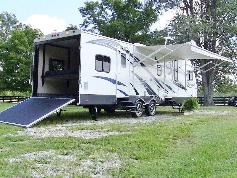 2013 Heartland Torque 261 toy hauler travel trailer. For ...