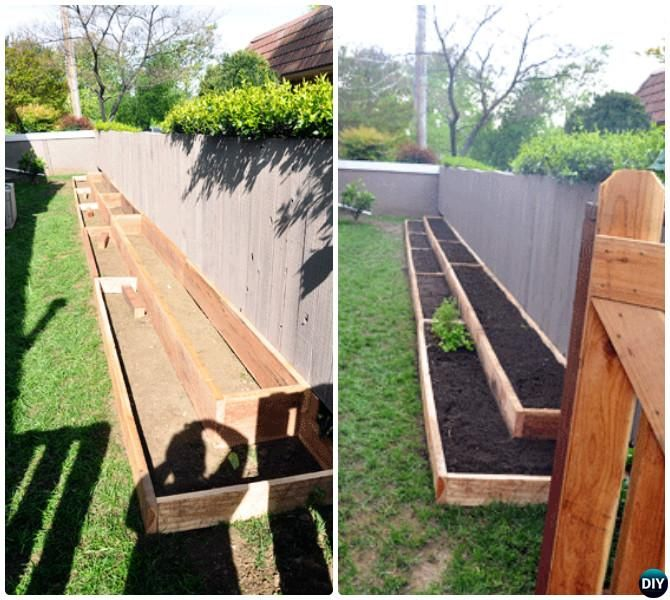 Diy fence line raised garden bed 20 diy raised garden bed ideas diy fence line raised garden bed 20 diy raised garden bed ideas instructions workwithnaturefo