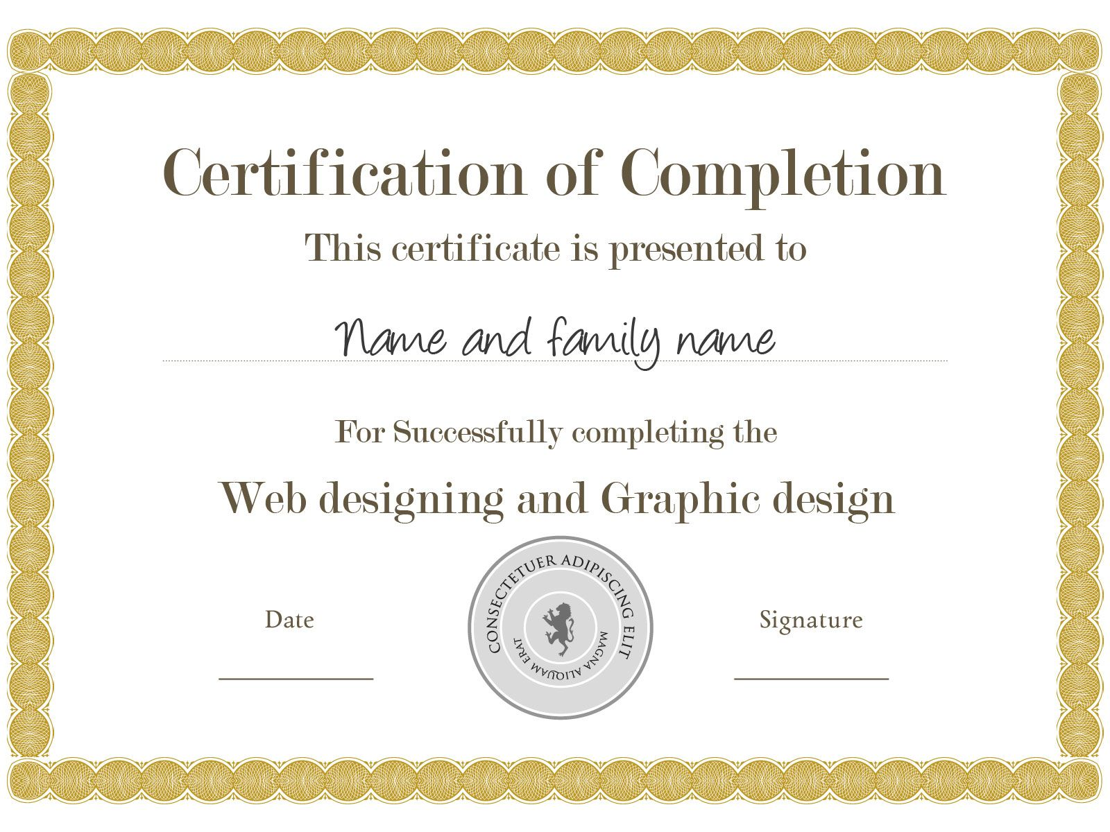 Example certificate template you can download this one and example certificate template you can download this one and others like it for free xflitez Gallery