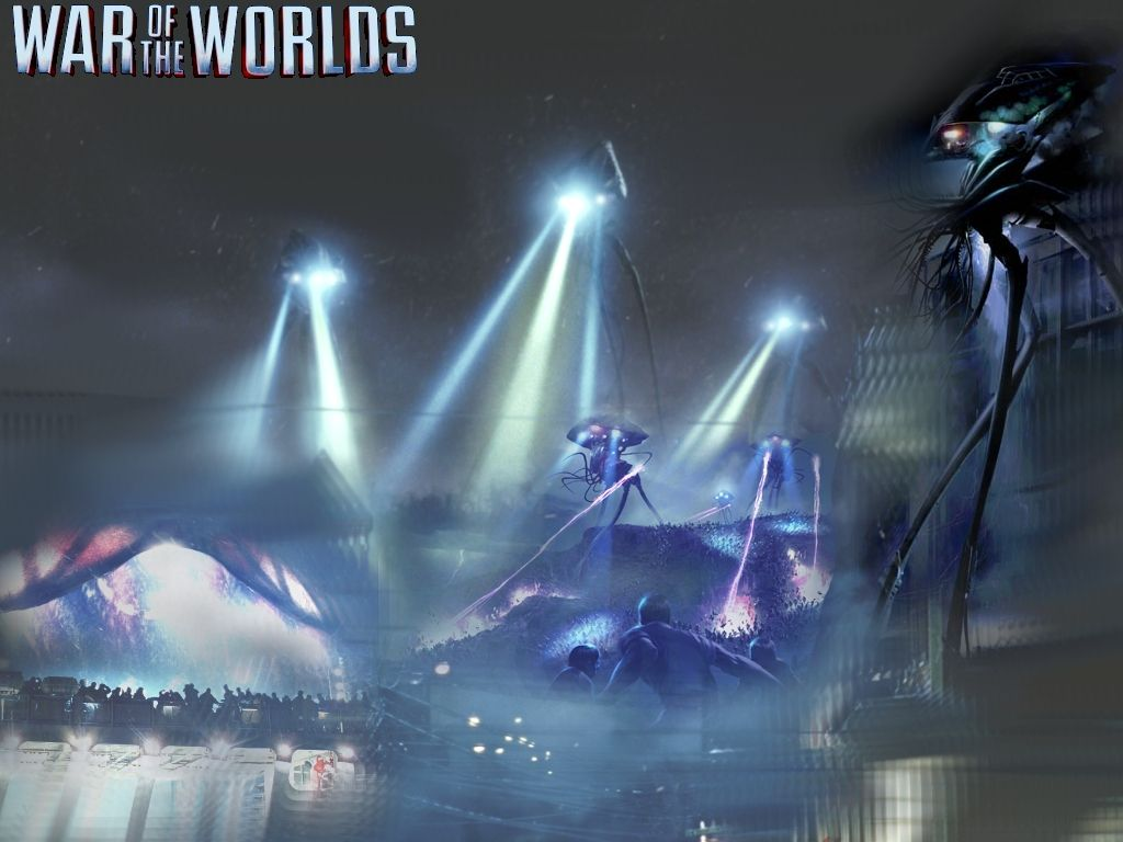 Tripod Wallpaper By Anthonypearson War Of The Worlds Pulp