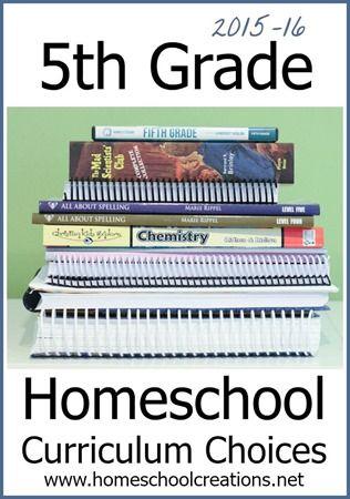 Photo of 5th Grade Homeschool Curriculum Choices