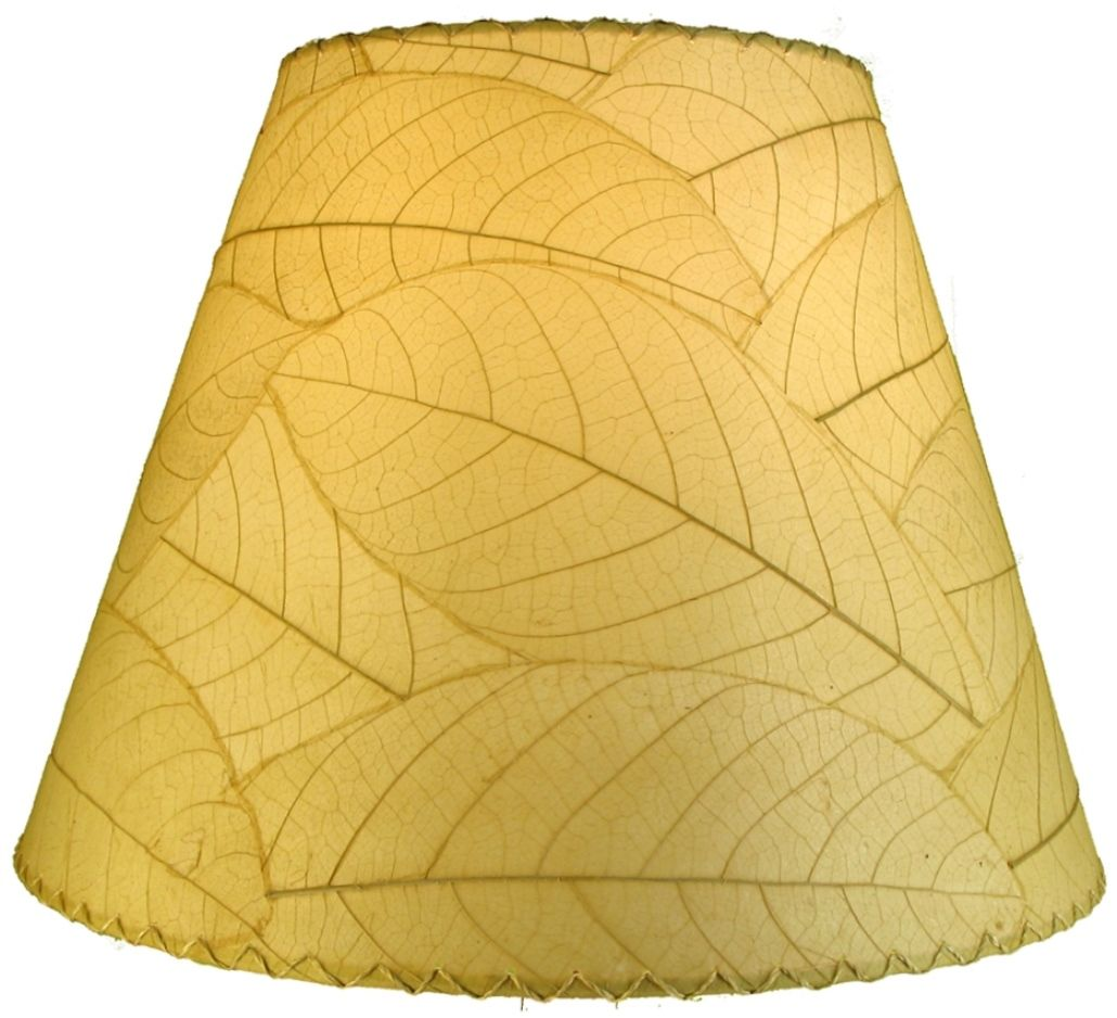 Cocoa Leaf Lamp Shade 16 W 486 Natural Lamp Shade Lamp Replacement Lamp Shades