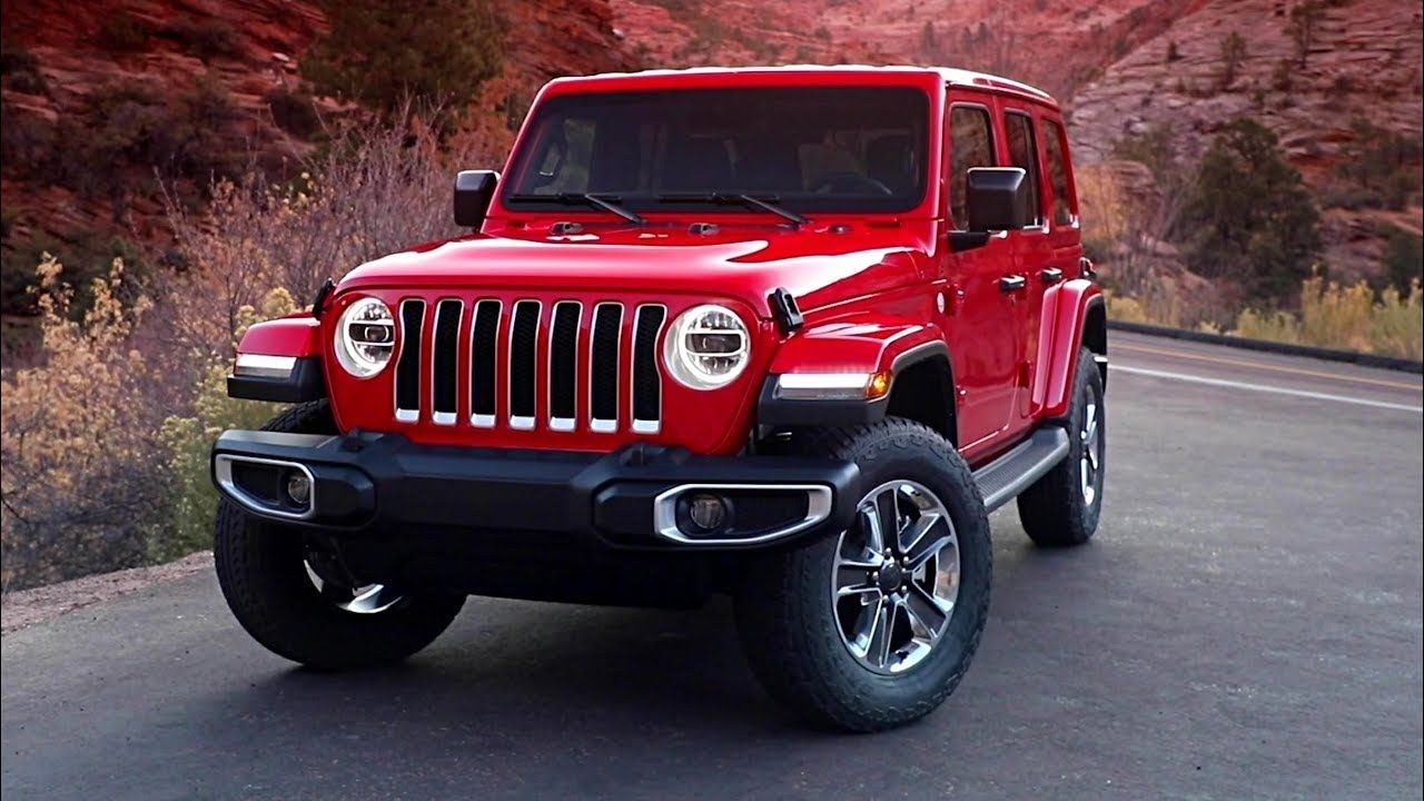 2020 Jeep Wrangler Sahara Ecodiesel Four Door Diesel Powered Wrangler