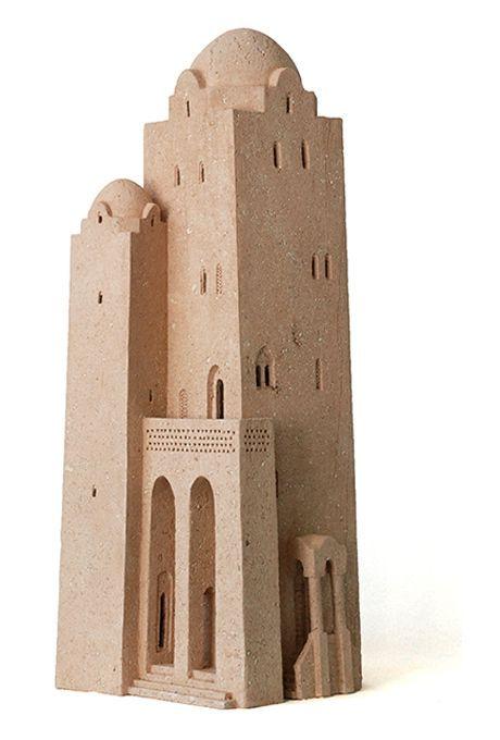 By Arthur Meijer 建築模型 建物 建築