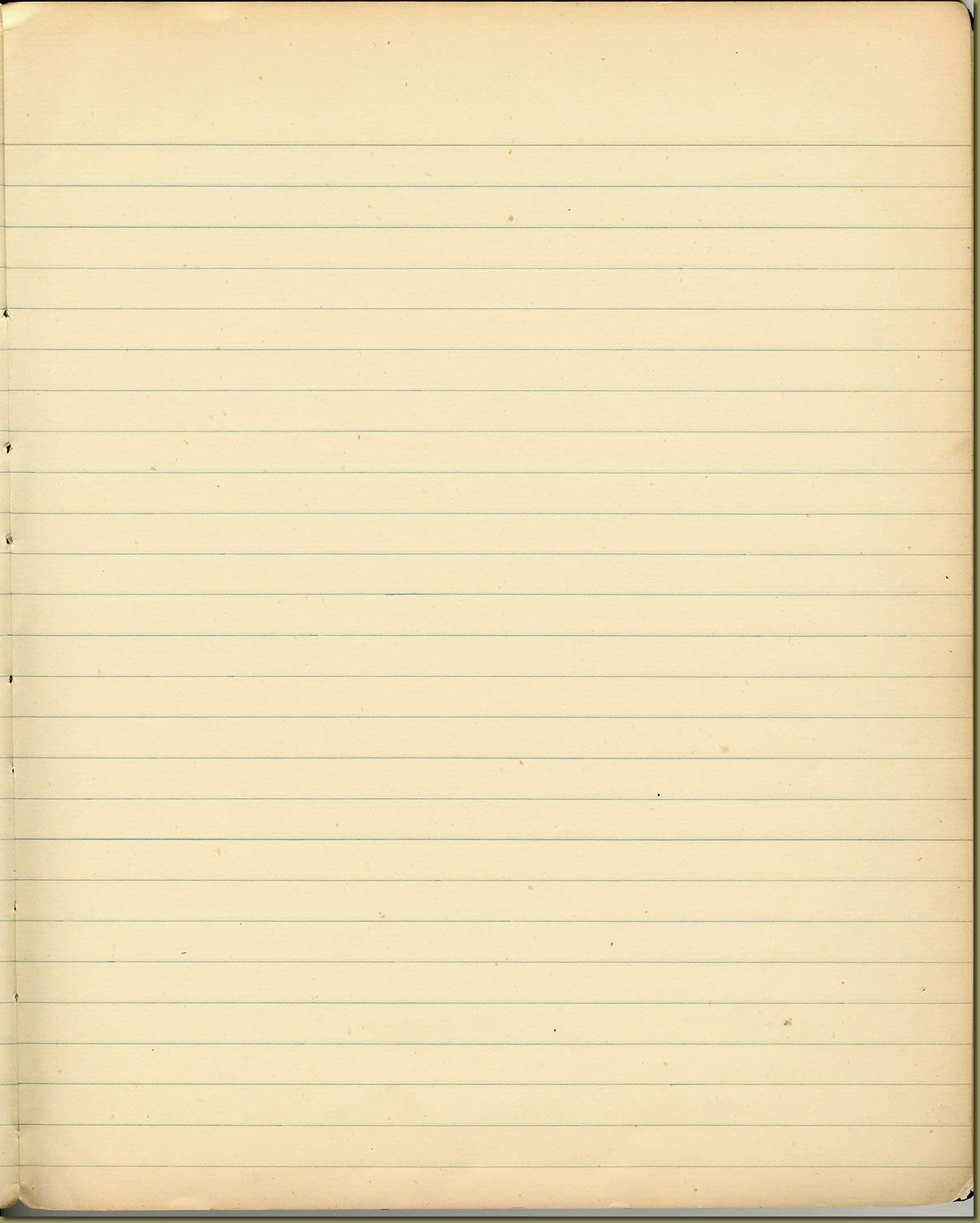 blank page for typing