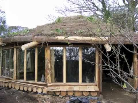 ▷ Building a Cobwood Roundhouse in Cornwall - YouTube Auto