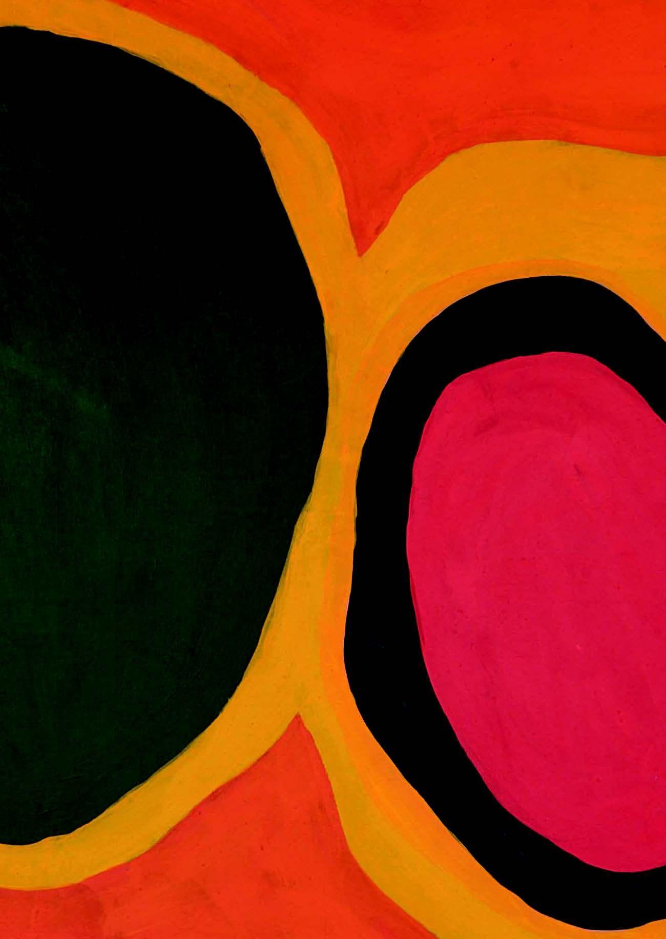 Jules Olitski Basium Blush 1960 Magna On Canvas 79 X 109 In 200 7 X 276 9 Cm Jules Olitski Colorful Art Lyrical Abstraction
