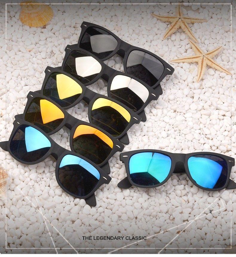 3553dbae40 Fashion Sunglasses Men Polarized Sunglasses Men Driving Mirrors Coating  Points Black Frame Eyewear Male Sun Glasses UV400 AF2168 Free shipping rest  of world
