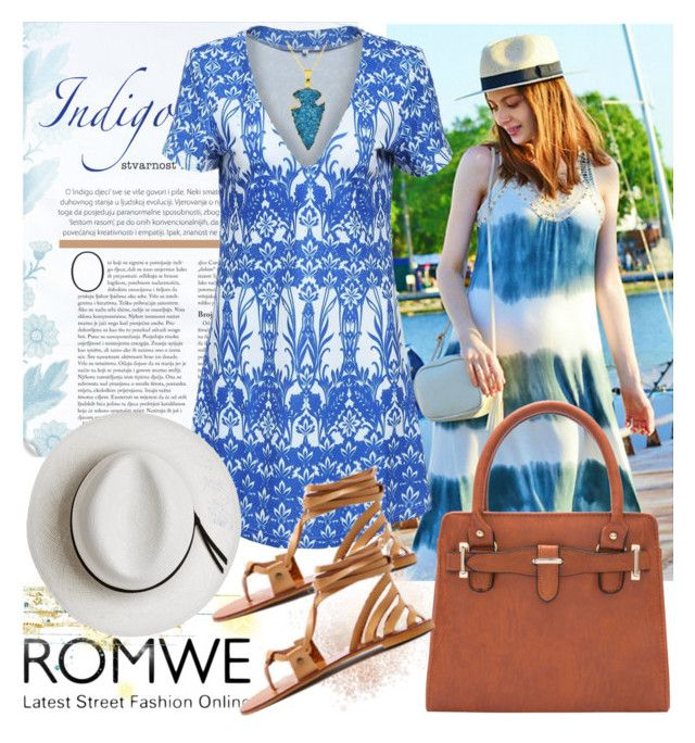 """""""Romwe"""" by irinavsl ❤ liked on Polyvore featuring Calypso Private Label"""