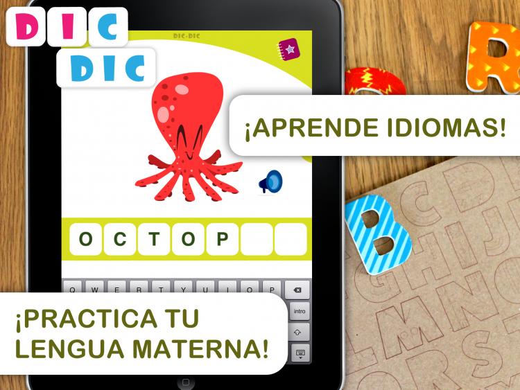 Dic Dic La Mejor Aplicación Para Deletrear Y Aprender Vocabulario Aplicaciones Para Aprender Ingles Aprender Ingles Para Niños Inglés Para Niños
