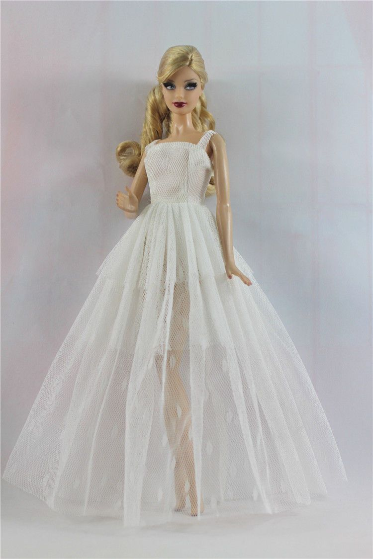 Fashion Royalty Princess Dress/Clothes/Gown For Barbie Doll S522 ...
