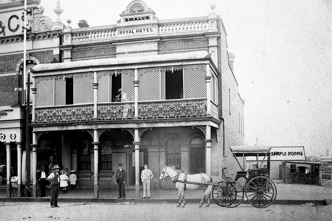 The Royal Hotel At Temora In New South Wales Year Unknown South Wales Wales New South