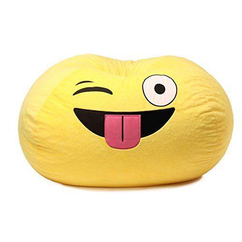Gomoji Emoji Silly Bean Bag Chair Gomoji Https Www Amazon Com Dp B06w9l4vb5 Ref Cm Sw R Pi Dp X W2zgabmdy2rzb Emoji Bean Bag Kids Bean Bags Bean Bag