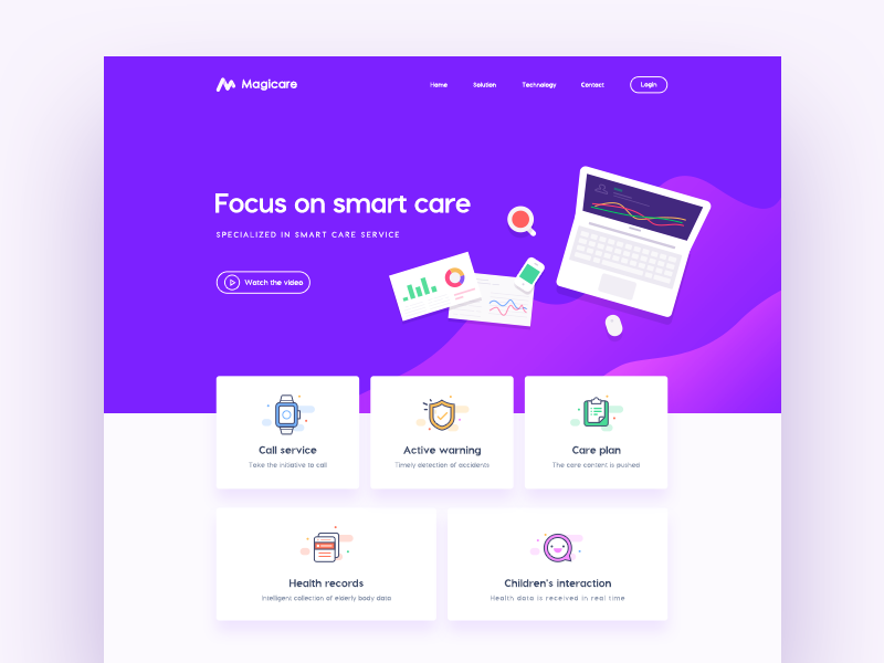 Web Design Concept Version With Images Web Design Concept Design Composition Design