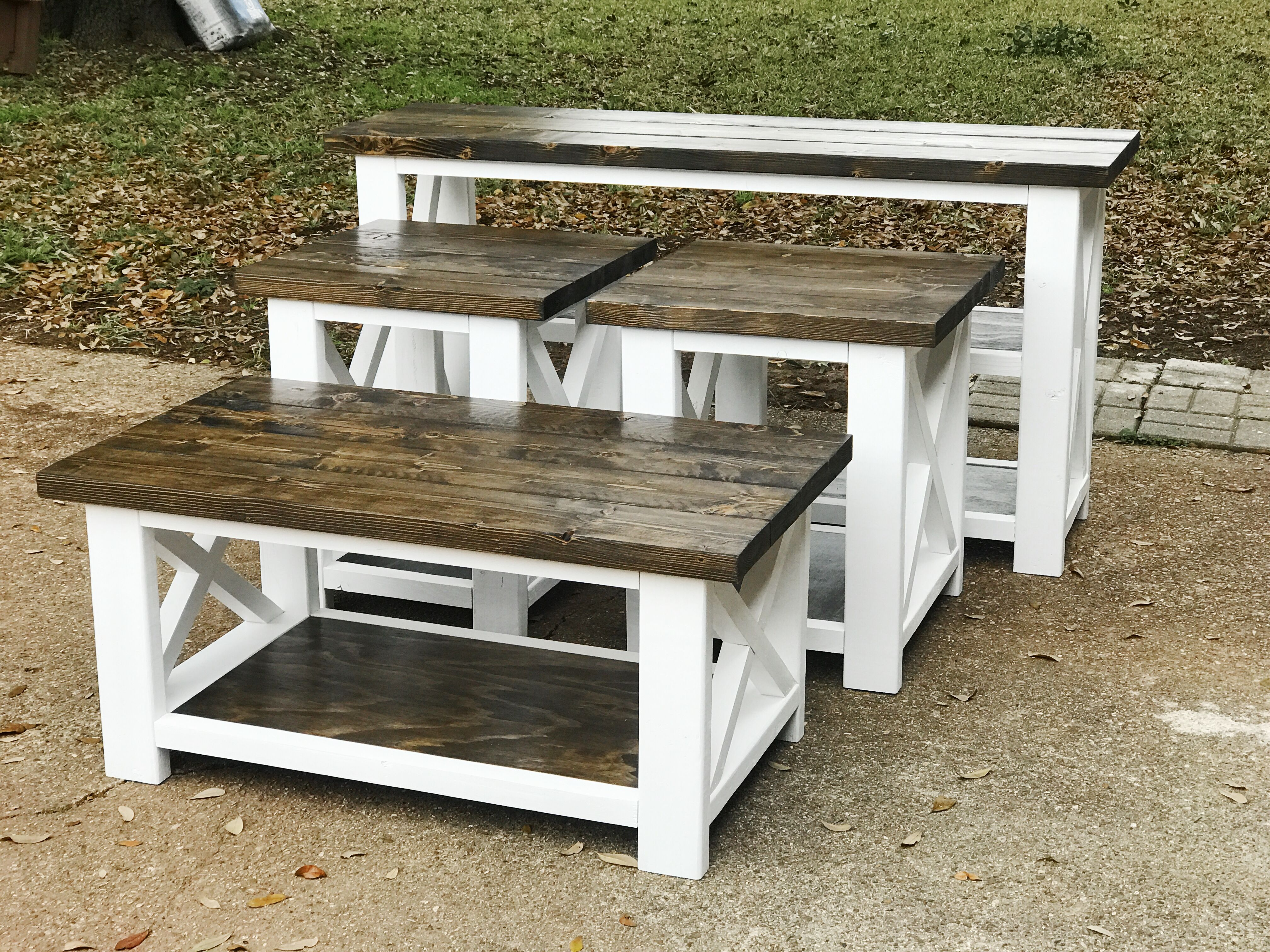 17++ Farmhouse end tables for living room inspiration