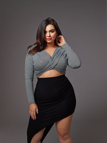 Sexy clothes for plus size girls