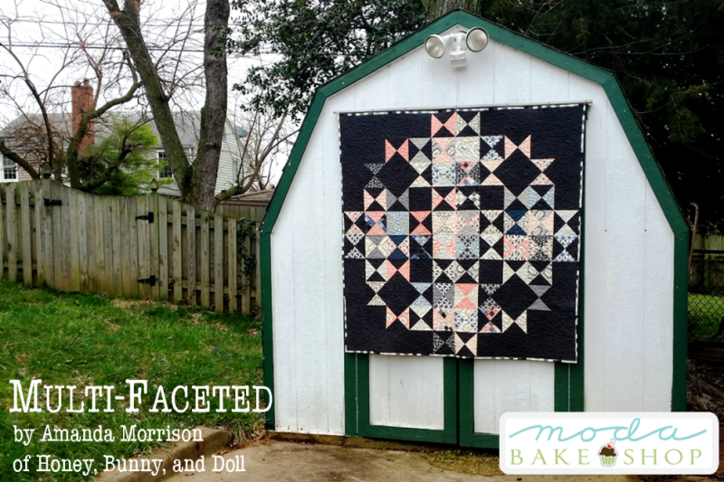multi faceted charm pack quilt