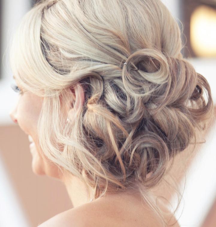 elegantly beautiful wedding hairstyles romantic