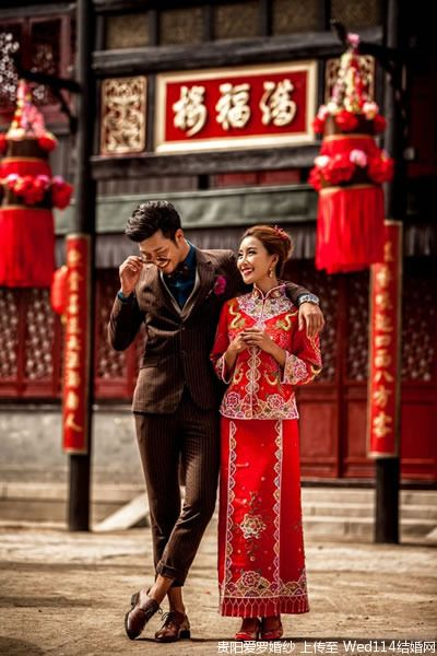 Authentical Chinese Couple Lovely Chinese Wedding Traditional Chinese Wedding Chinese Wedding Photos Chinese Wedding Dress