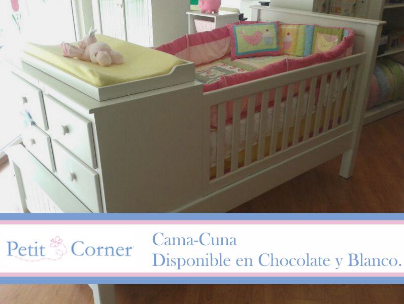 Cama cuna muebles pinterest cama cuna camas y muebles para bebe for Cama individual blanca
