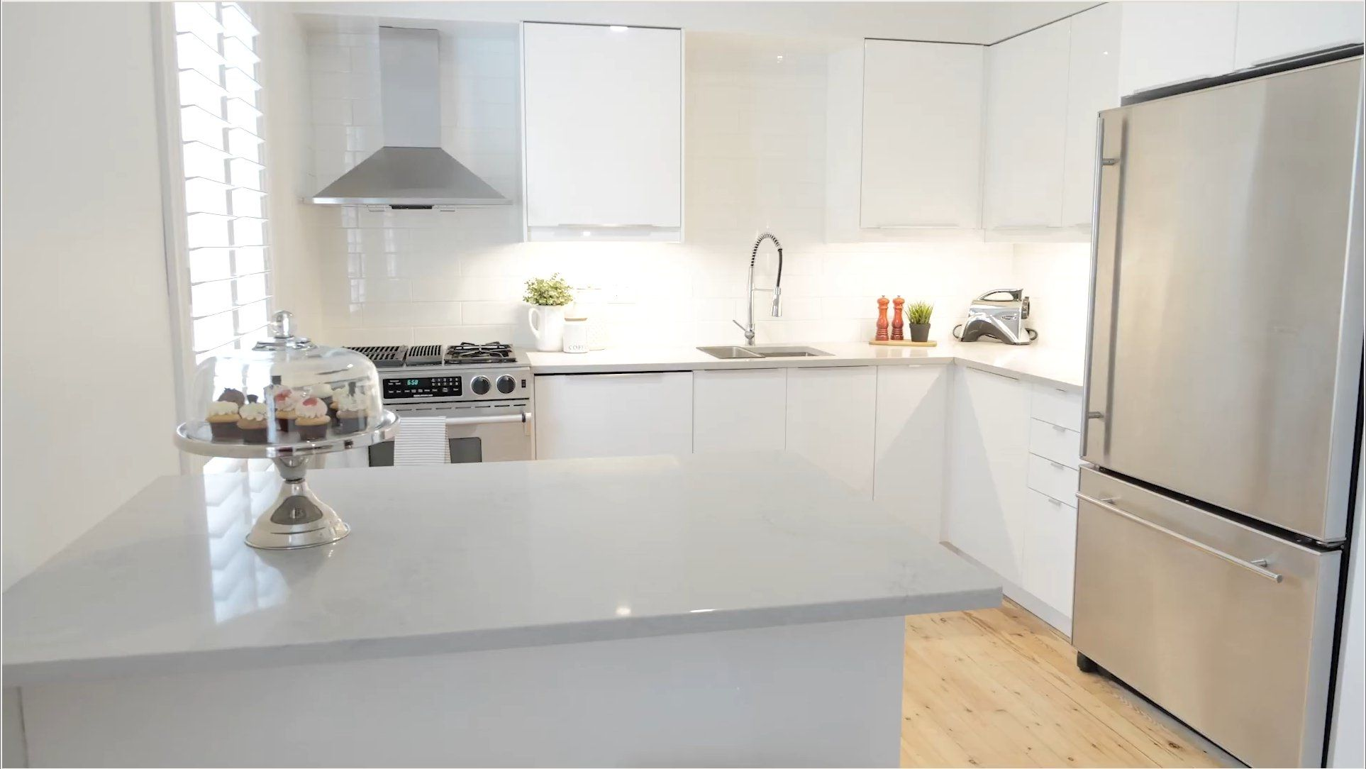 Beautiful Modern Ikea Kitchen Fronts Ringhult High Gloss White
