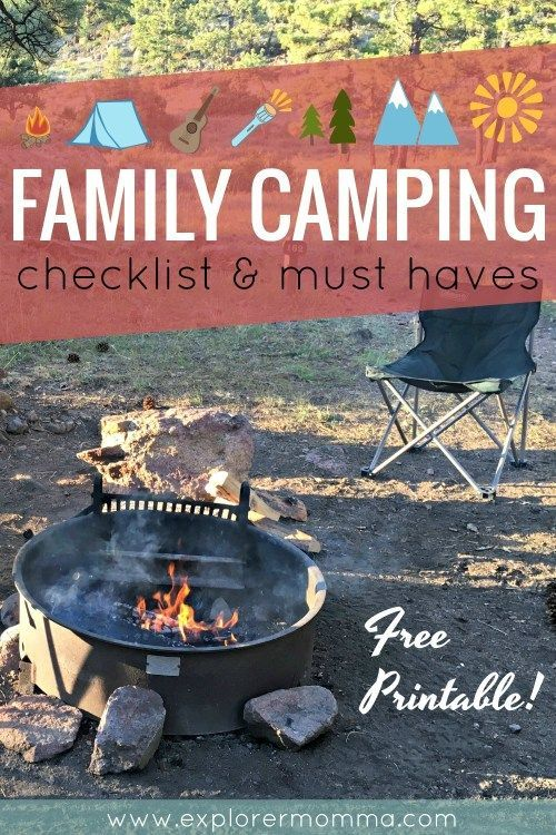 Photo of Family Camping Checklist And Must Haves – #camping #Checklist #Family #haves