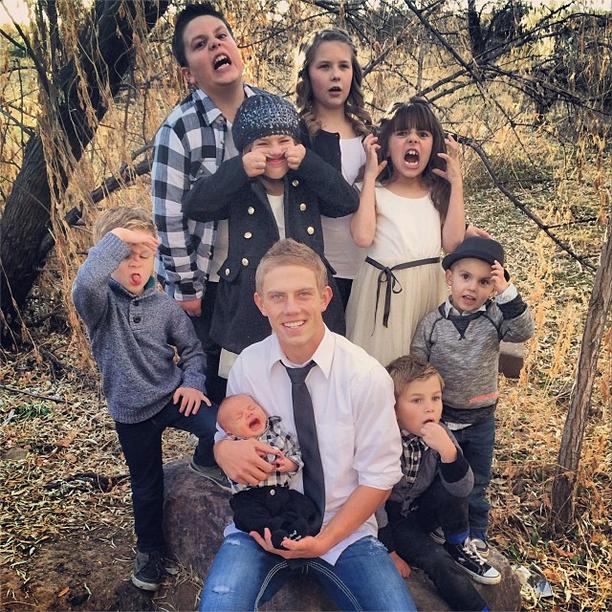 Shaytards Family With Brotard
