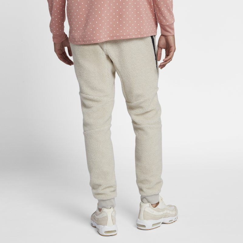 d210fc68fcb Nike Sportswear Tech Fleece Icon Men s Sherpa Joggers - Cream