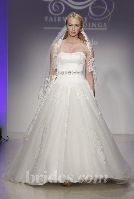 Disney Fairy Tale Weddings By Alfred Angelo Wedding Dresses   Fall/Winter  2013. Style