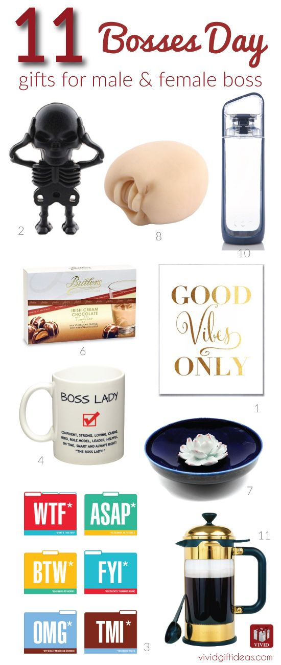 11 Fun Gift Ideas To Celebrate Bosses Day Gifts