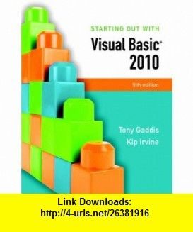 Starting out with visual basic 2010 5th edition 9780136113409 starting out with visual basic 2010 edition a book by tony gaddis kip r fandeluxe Image collections