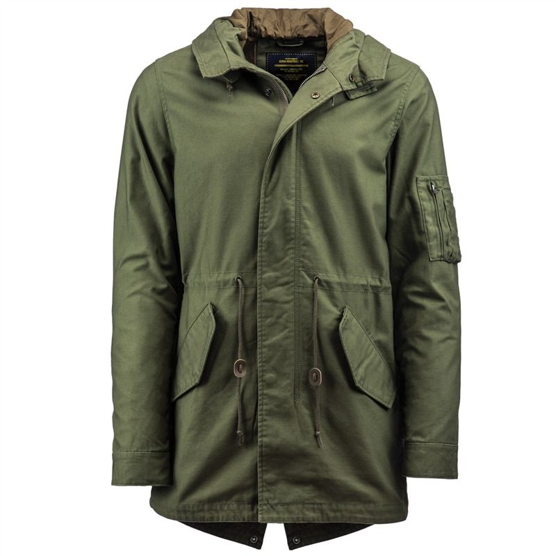 Us shell parka m51 xs
