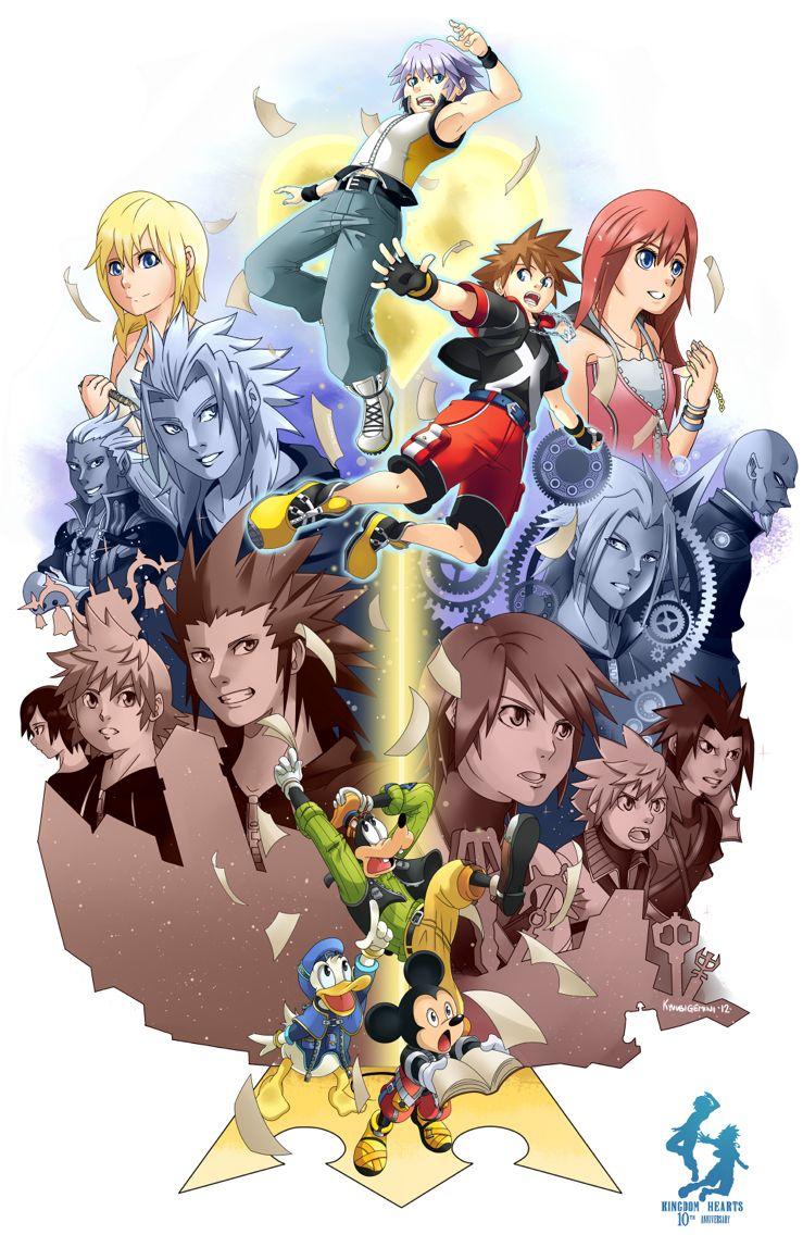 Kingdom Hearts - Characters