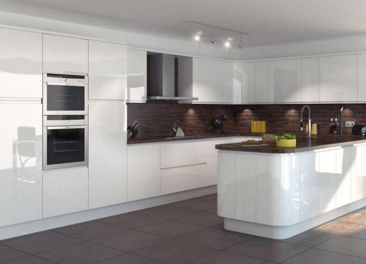 Kitchen Ideas Nottingham White Gloss Kitchen White Kitchen Design Kitchen Design