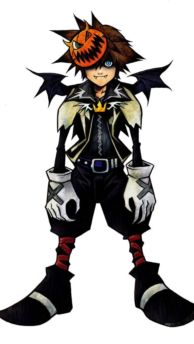Sora Halloween town | Tattoo Ideas/ Likes | Pinterest