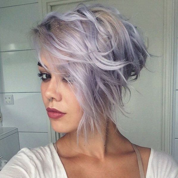 My blonde/lilac hair before I coloured it : FancyFollicles ...