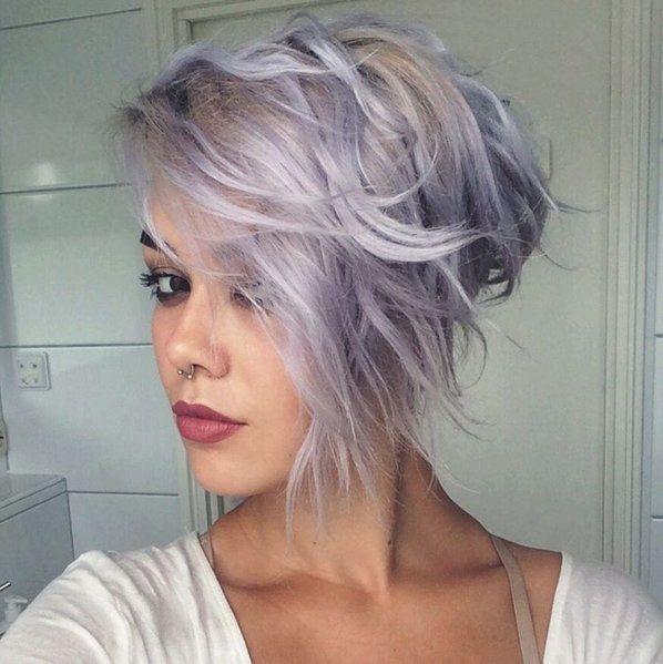blonde lilac hair coloured
