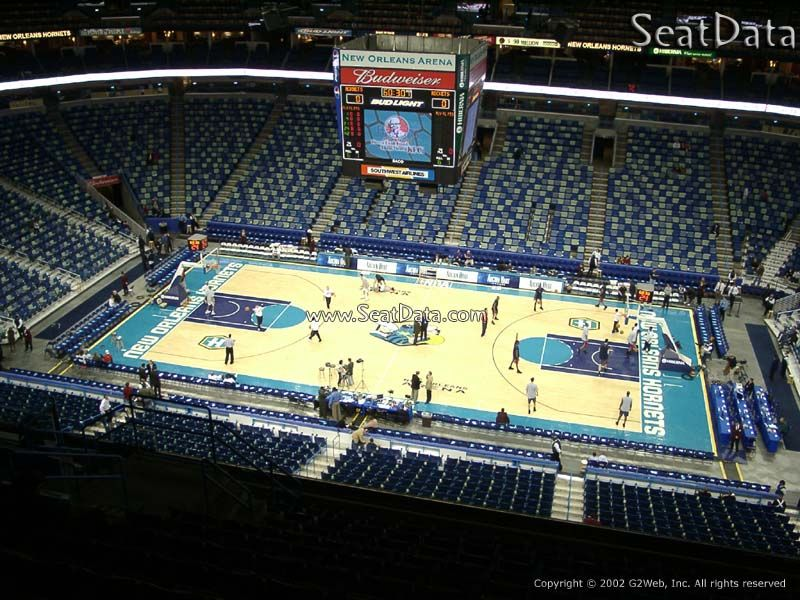 New Orleans Arena New Orleans La Home Of The New